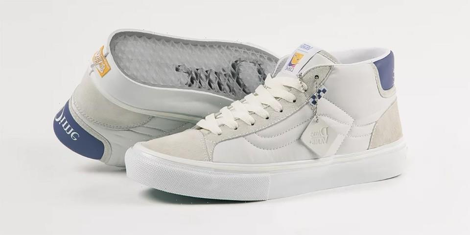 Vans Reconnects with Dime for an Elevated Skate Mid School ...